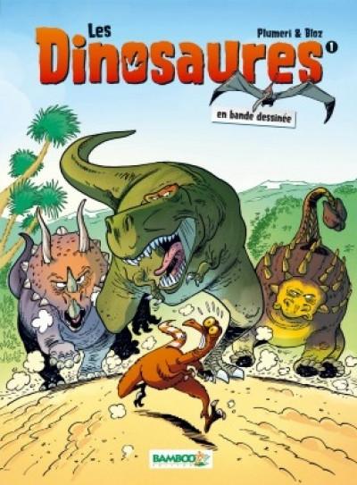 Couverture Les dinosaures en bande dessinée tome 1