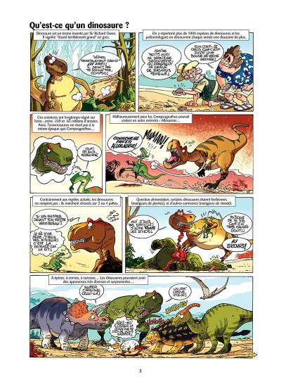 Page 4 Les dinosaures en bande dessinée tome 1