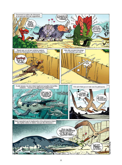 Page 5 Les dinosaures en bande dessinée tome 1