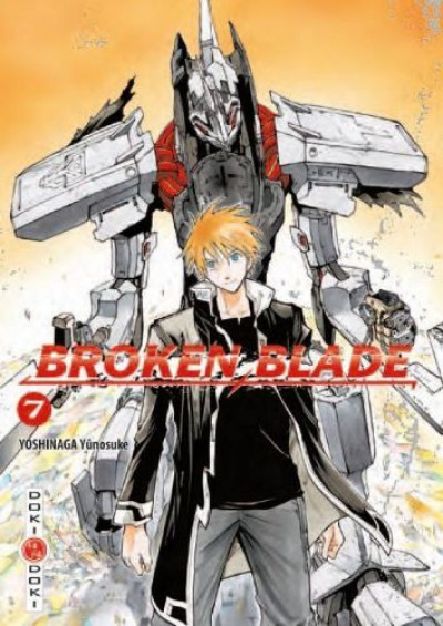 Couverture broken blade tome 7