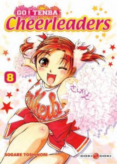 Couverture go ! tenba cheerleaders tome 8