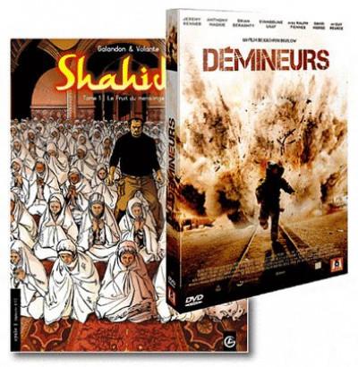 image de shahidas tome 1 - + DVD Démineurs