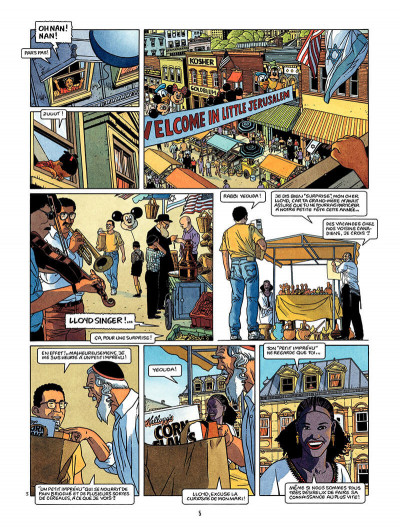 Page 6 Lloyd Singer tome 2 - Appleton Street
