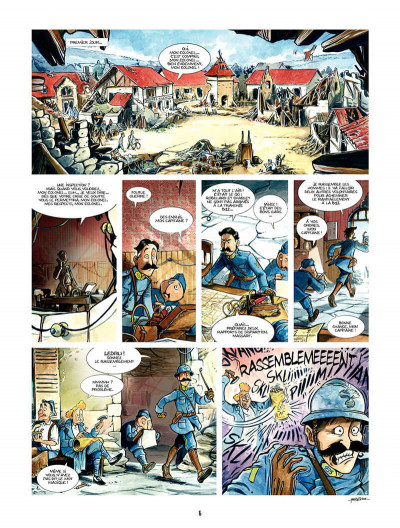 Page 5 les godillots tome 1 - le plateau du croquemitaine