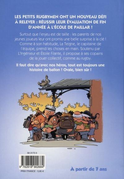 Dos Les petits rugbymen - roman poche tome 2