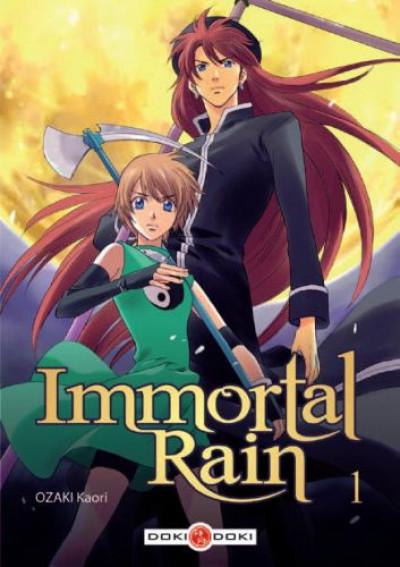 Couverture immortal rain tome 1