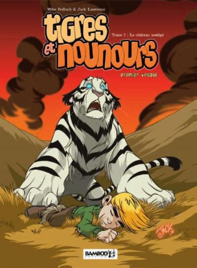 image de tigres et nounours tome 2 - premier voyage (édition 2011)
