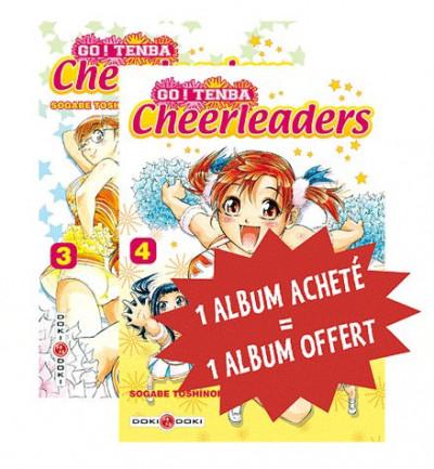 image de go ! tenba cheerleaders tome 3 et tome 4 - coffret