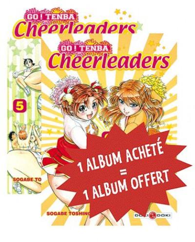 image de go ! tenba cheerleaders tome 5 et tome 6 - coffret