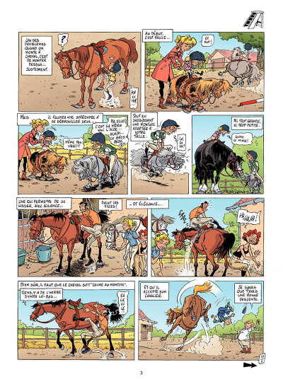 Page 2 Triple galop tome 6