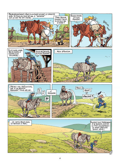 Page 3 Triple galop tome 6