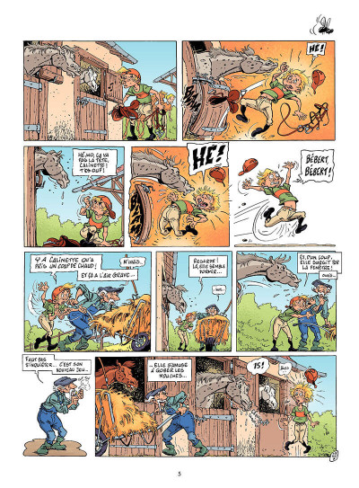 Page 4 Triple galop tome 6