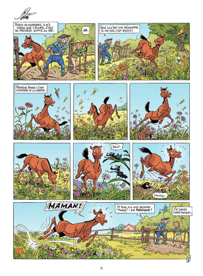 Page 5 Triple galop tome 6