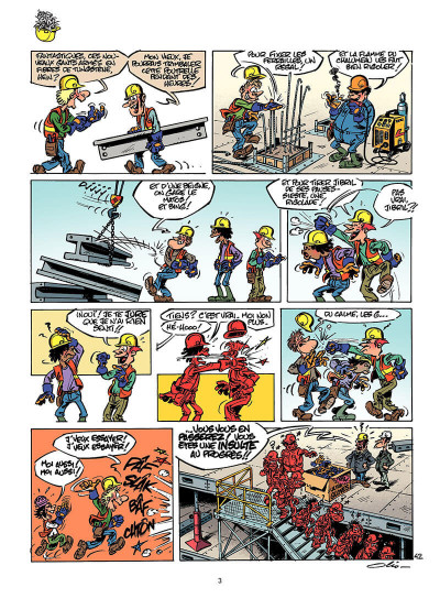 Page 2 le chantier tome 2 - ...dure toujours !