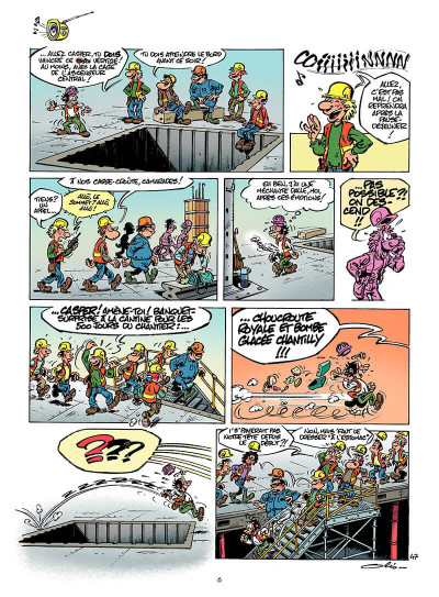 Page 5 le chantier tome 2 - ...dure toujours !