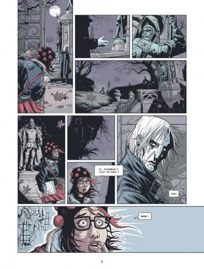 Page 4 une bien belle nuance de rouge tome 1 - Garance