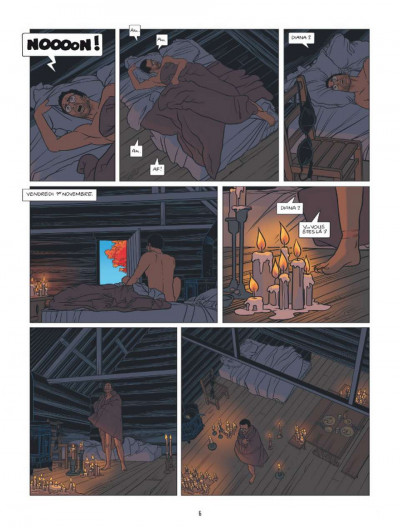 Page 4 Lloyd Singer tome 6 - seuls au monde