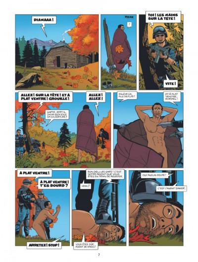 Page 5 Lloyd Singer tome 6 - seuls au monde