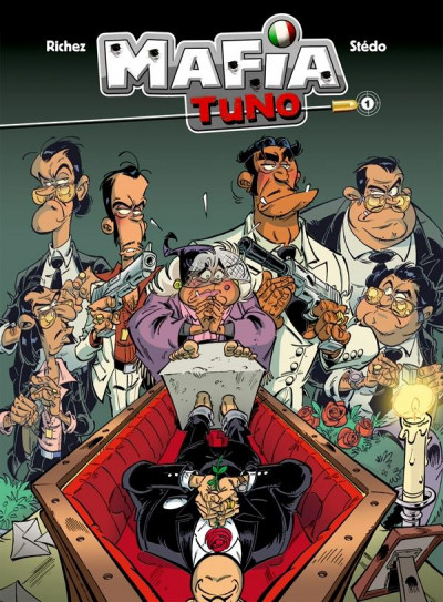 Couverture mafia tuno tome 1