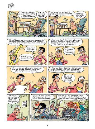 Page 3 L'auto-école tome 8 - panneau-rama