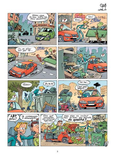 Page 4 L'auto-école tome 8 - panneau-rama