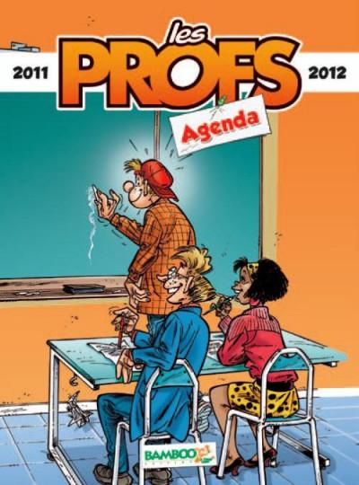 Couverture agenda les profs 2011/2012