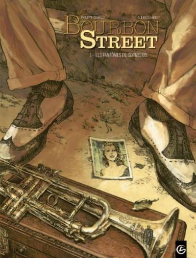 Couverture Bourbon Street tome 1 - les fantômes de Cornélius
