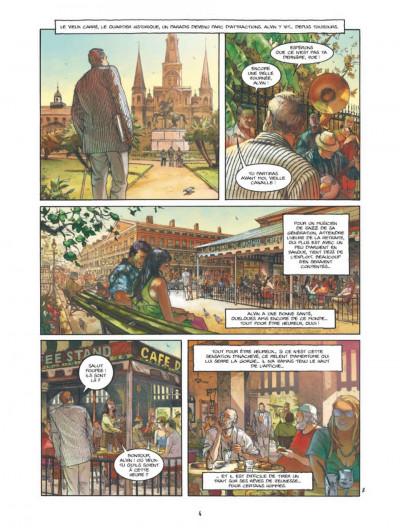 Page 2 Bourbon Street tome 1 - les fantômes de Cornélius