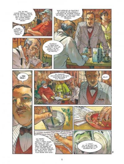 Page 4 Bourbon Street tome 1 - les fantômes de Cornélius