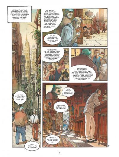 Page 5 Bourbon Street tome 1 - les fantômes de Cornélius