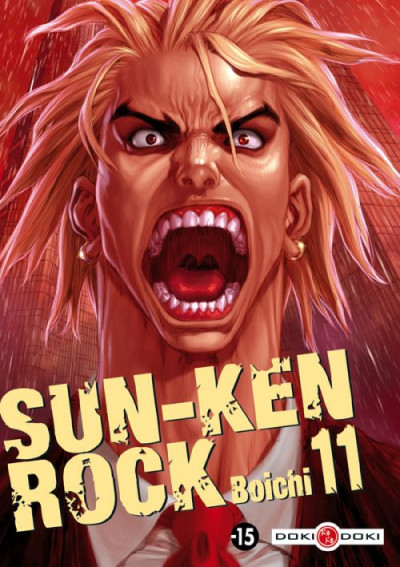 Couverture sun-ken rock tome 11