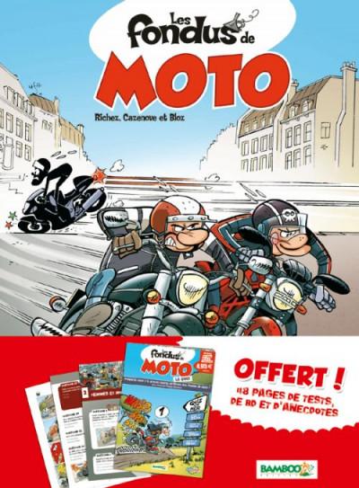 Couverture les fondus de moto T.1