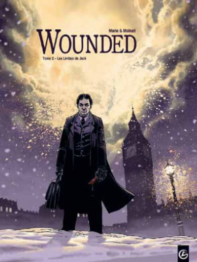 Couverture wounded - coffret tome 1 et tome 2