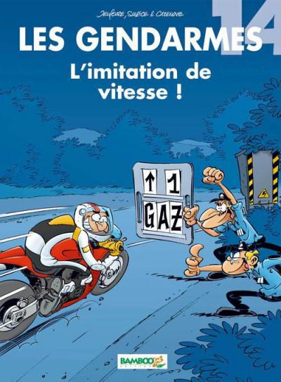 image de les gendarmes tome 14 - l'imitation de vitesse !