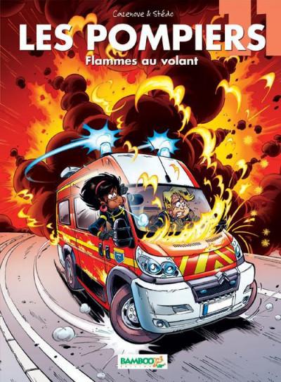 image de les pompiers tome 11 - flammes au volant