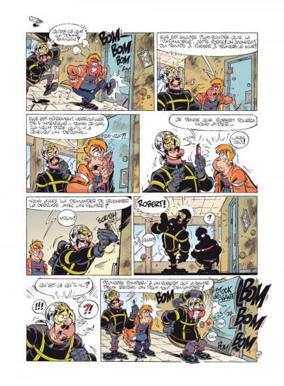 Page 2 Les pompiers tome 11 - flammes au volant