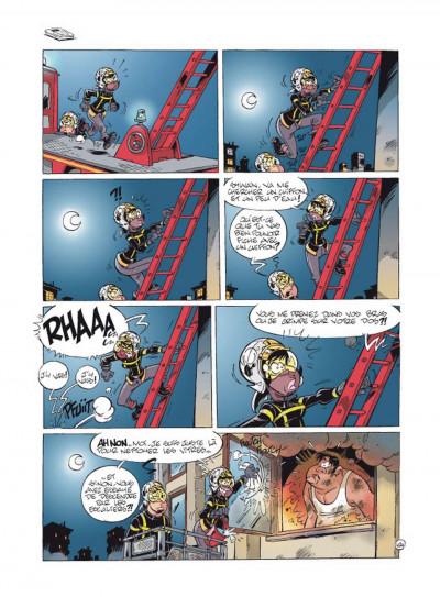 Page 4 Les pompiers tome 11 - flammes au volant