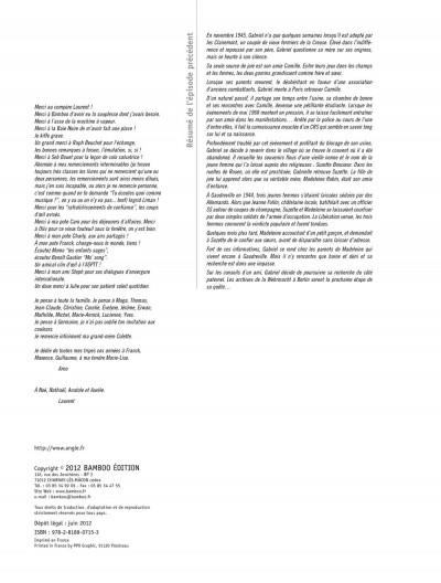 Page 2 l'enfant maudit tome 2 - la marque 0