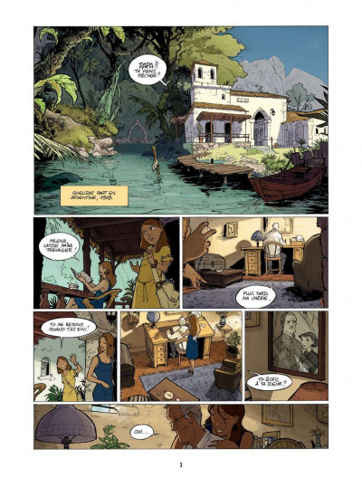Page 3 l'enfant maudit tome 2 - la marque 0