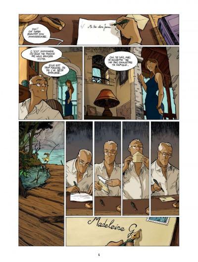 Page 4 l'enfant maudit tome 2 - la marque 0
