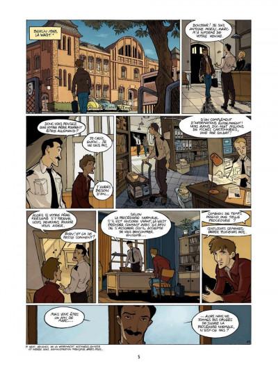 Page 5 l'enfant maudit tome 2 - la marque 0