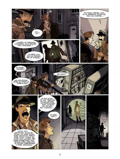 Page 6 l'enfant maudit tome 2 - la marque 0