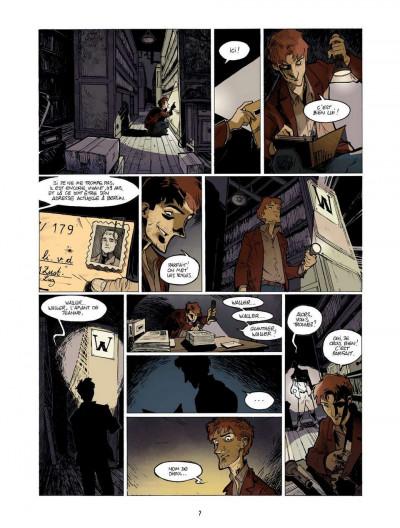 Page 7 l'enfant maudit tome 2 - la marque 0