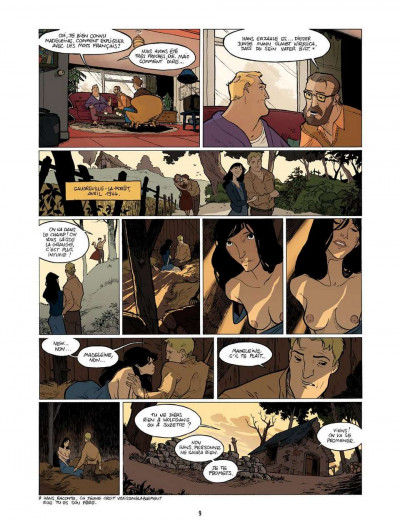 Page 9 l'enfant maudit tome 2 - la marque 0