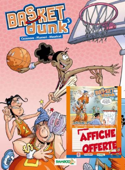 Couverture basket dunk T.3