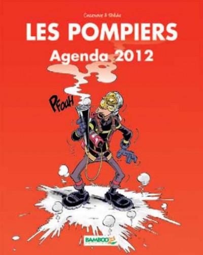 Couverture les pompiers ; agenda 2012
