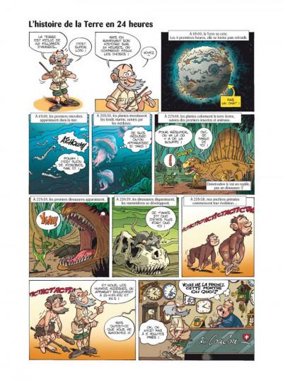 Page 2 Les dinosaures en bande dessinée tome 2