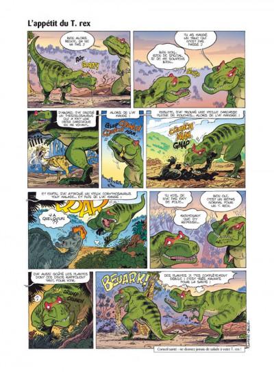 Page 5 Les dinosaures en bande dessinée tome 2