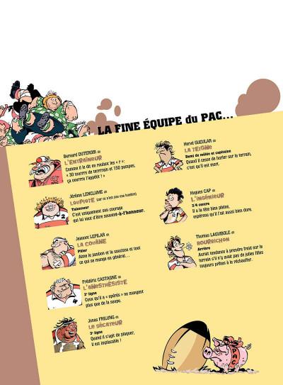 Page 3 Les rugbymen tome 10 - les gars, ensemble, on est un groupe électrogene !