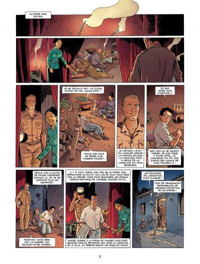 Page 4 la rafale tome 1 - les rails rouges
